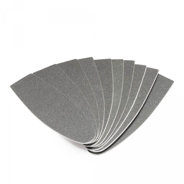 disposable blades for files, rough, 10 pieces per pack