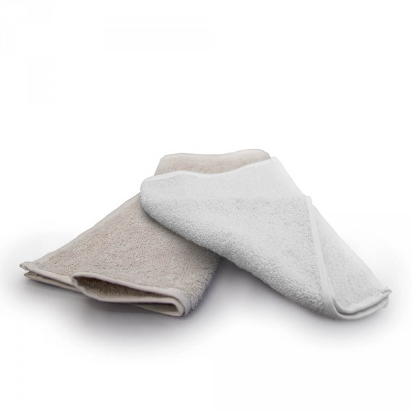 Compress Towel, 30x50 cm, white (11.8 x 19.7 in)