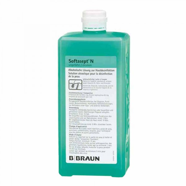 Braun Softasept N® skin disinfection 1L
