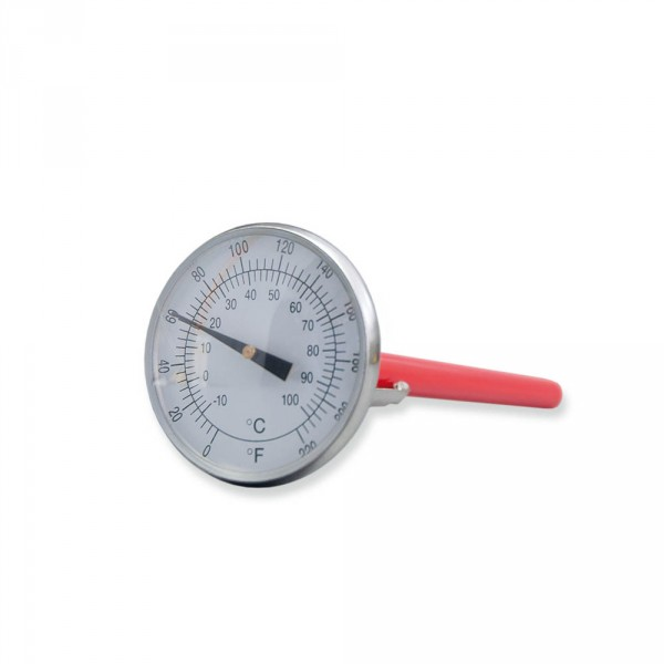 Thermometer for hot stone