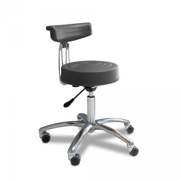 Gharieni PU chair with curved backrest