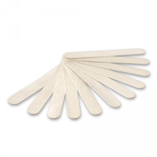 Spatula, wood, 15 cm (5.9 in), 100 pieces