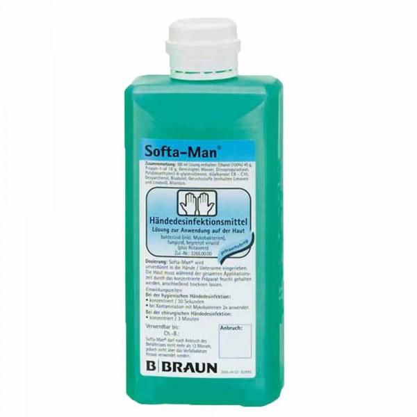 Brown Softa Man ViscoRub hand disinfection 500ml