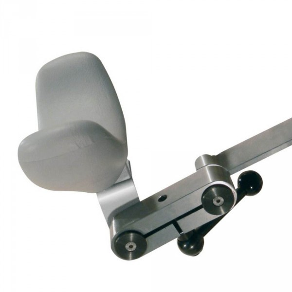 Double articulated head rest mechanism for SPL