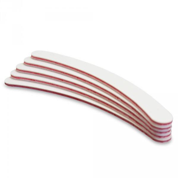 Profifeilen Standard Bumerang 100/180 weiss (10er Packung)