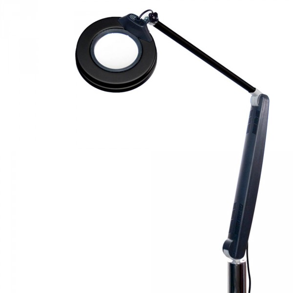 Magnifying lamp, De Luxe Plus black, 3.5 dioptries
