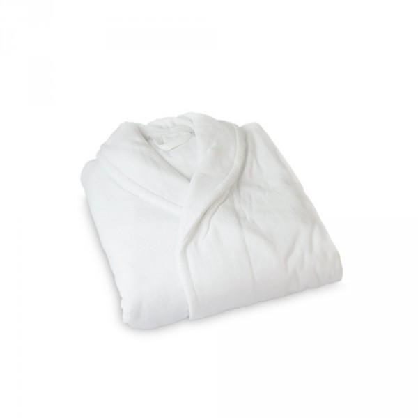 Men's Bathrobe, Size L, White