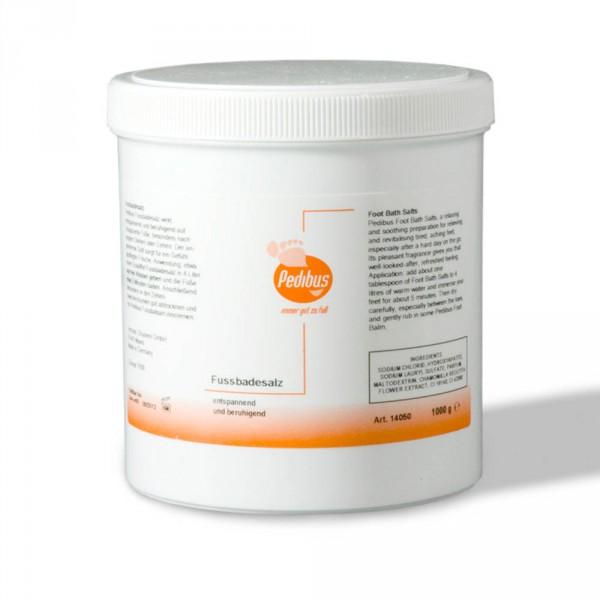 PEDIBUS foot bath salt, 1000 g