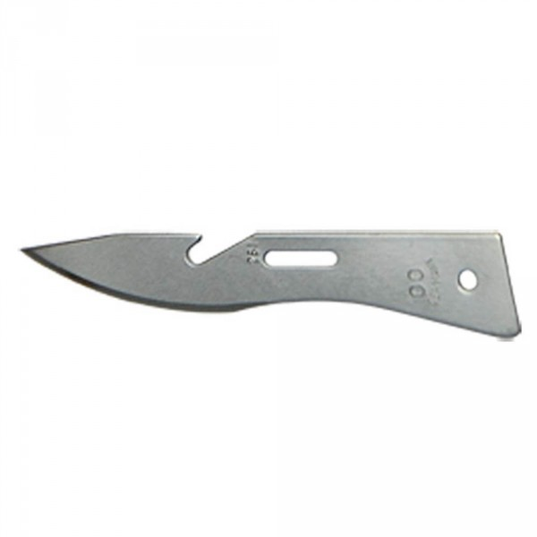 Scalpel blades, size 00, sterile, 100 pieces