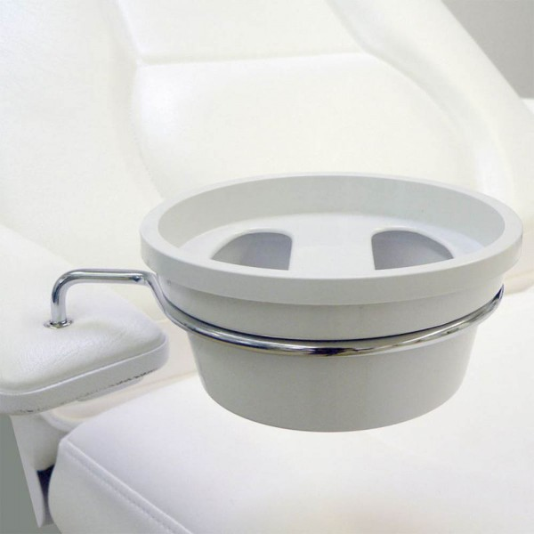 Fixture for round manicure bowl