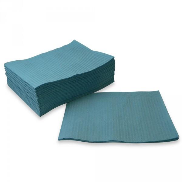 foot care towels, PE, blue, 48 x 33 cm, 500 pieces