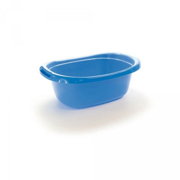 Foot bath, blue, 48 x 34 x 16,5 cm, 12 l (18.9 x 13.9 x 6.5 in)