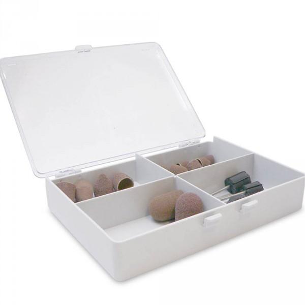 Plastic box, 4 compartments