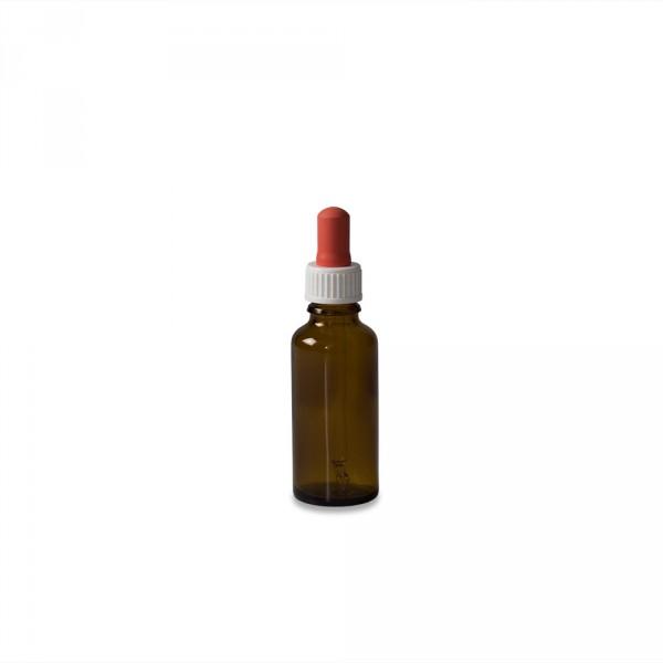 Pipette bottle, amber glass, 30ml
