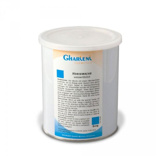 Yellow hydrosoluble wax jar, 800 g (1000 ml)