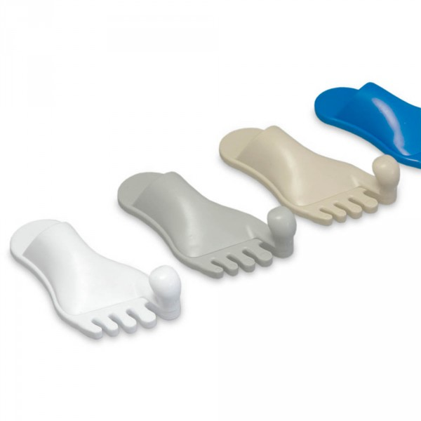 towel holder, foot shape