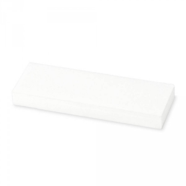 diamond cleaning stone, white, 75 x 25 x 8 mm
