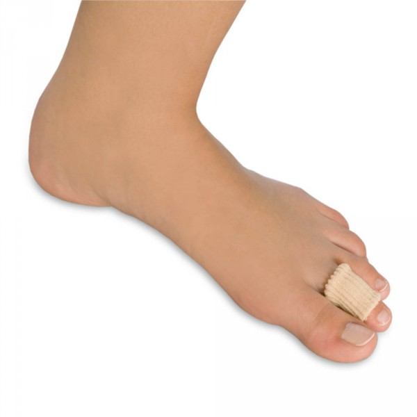 Polymer toe pad, small, 12 pieces