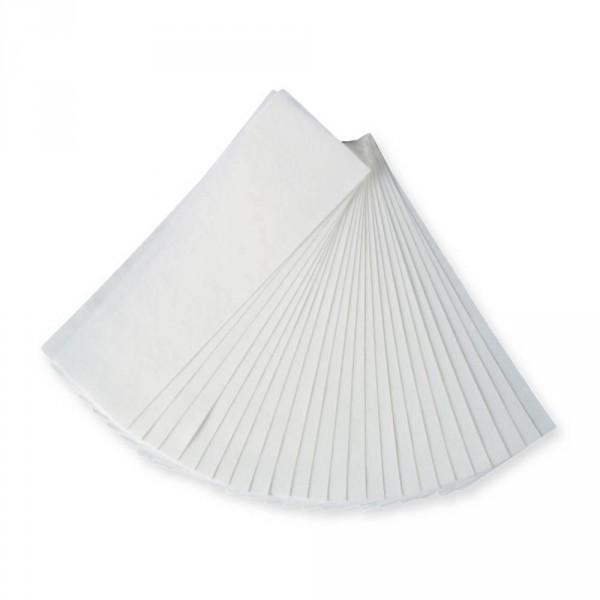 Depilatory wax strips, 22 x 7 cm, 100 pieces
