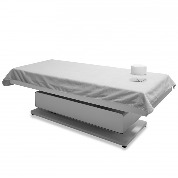 Dreamsoft sheet with nose slot, 110 x 230 cm, white