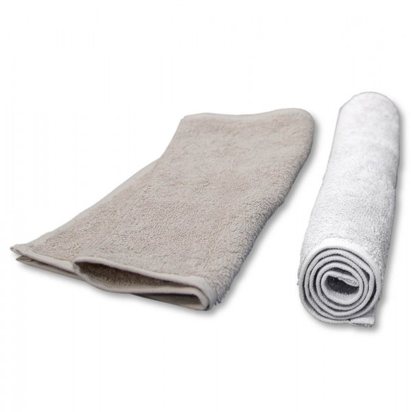 compress towel, 30x50 cm, creme (11.8 x 19.7 in)