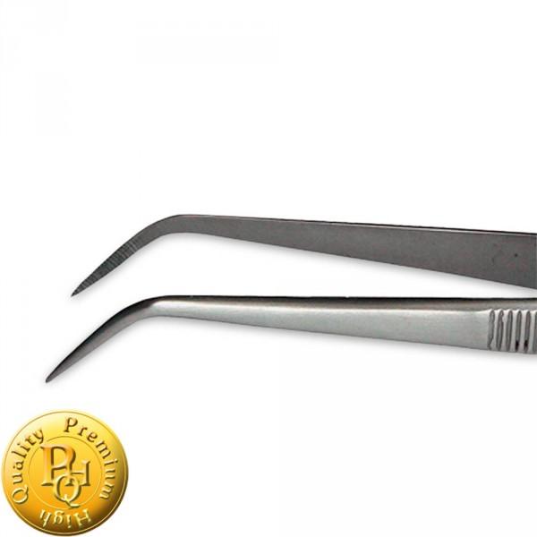 tweezer, angular, 11,5 cm