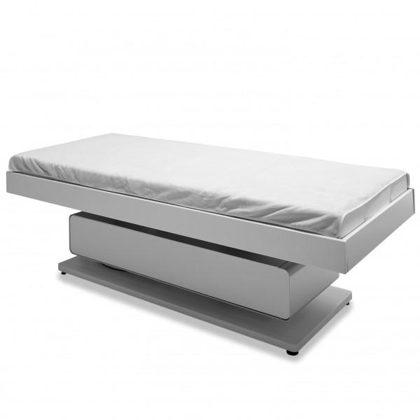 Velours sheet 100 x 200 cm, white