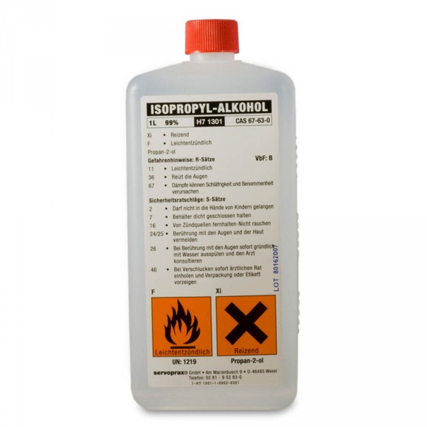 isopropyl alcohol, 99%, 1000 ml