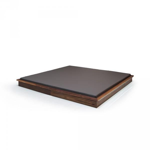 Shiatsu mat with frame