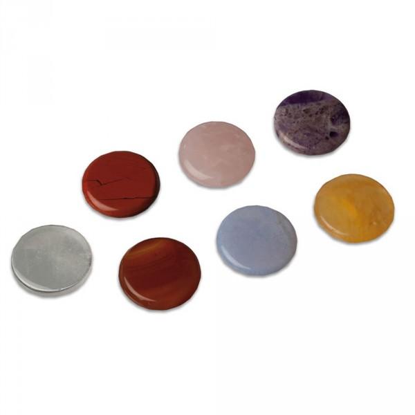 Chakra stone set, 7 pieces