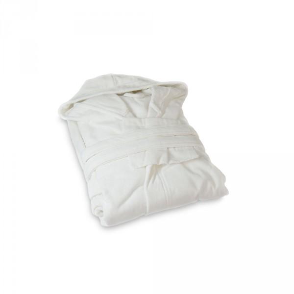 Women's Bathrobe, Size M, White