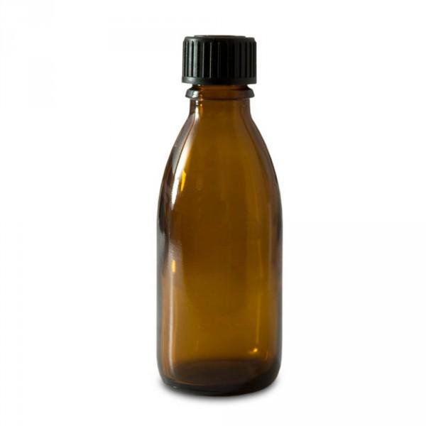 bottle, brownglass, 50 ml