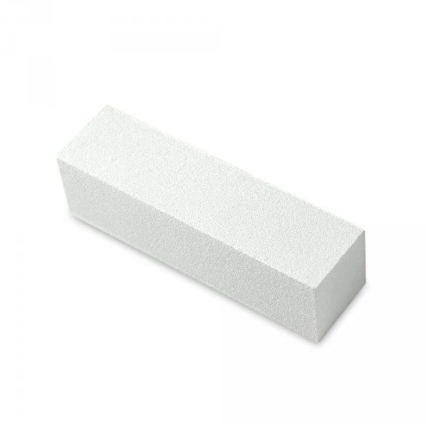 Grinding block, white, 4 sides, 100/100