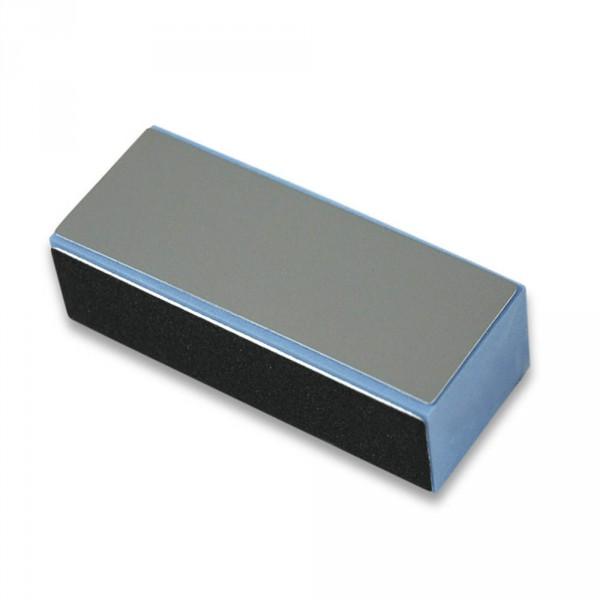 Polishing block, Eliminator, blue, 4 sides, black/black/white/grey