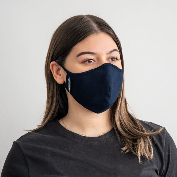 Gharieni face mask with exchangeable nanofilter (version for women), blue