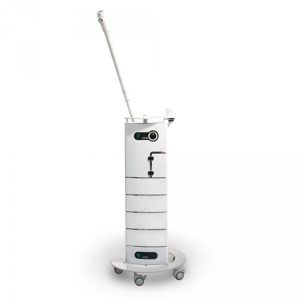 Multifunctional treatment unit rotary design with AluVap, completely in white
