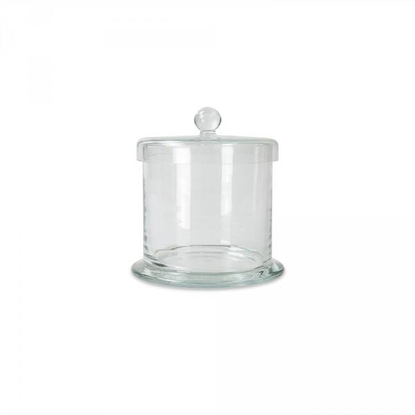 Cotton jar with lid, 12 cm high, Ø 12 cm