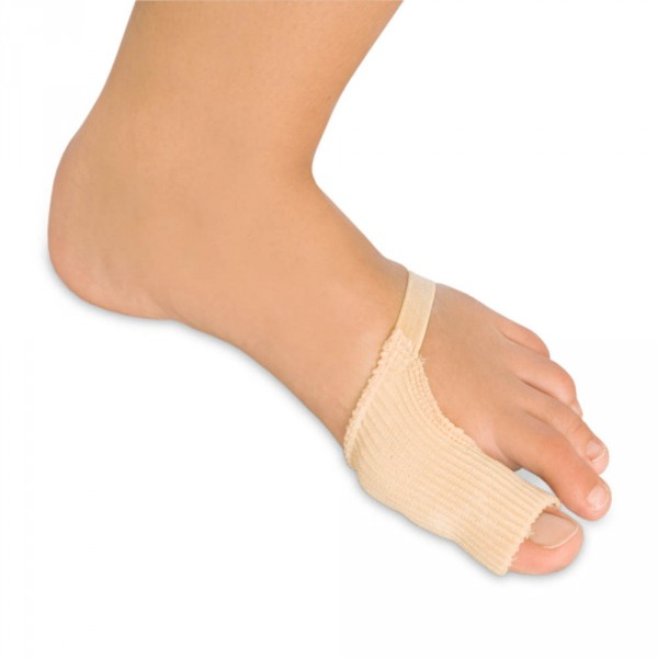 Polymer bunion shield, large, 2 pieces